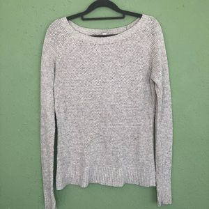 LOFT Gray Sweater Size Small